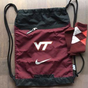 Va Tech Hokies Backpack/Day Bag